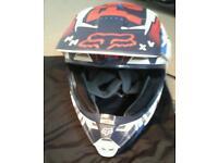 Fox mx children's helmet