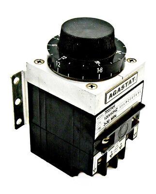 Agastat 7022ah Timing Relay 120v 60hz 3-30min