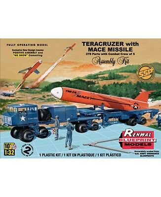 2012 revell 85-7812 1/32 Teracruzer with Missile Plastic Model Kit in the b