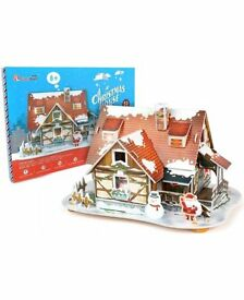 Cubic Fun 3D puzzle Christmas House_Brand new