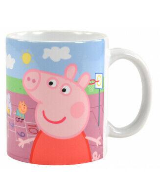 Peppa Pig Tasse George Kaffeetasse Peppa Wutz Becher Mug Kinder Kaffeebecher NEU