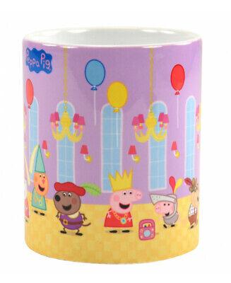 Peppa Pig Tasse Peppa's Party Kaffeetasse Wutz Becher Mug Kinder Kaffeebecher