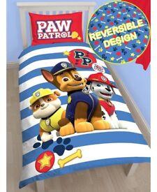 Kids character bedding