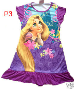 Disney Princess Party / Nighty Dress / PJ for girl 3-7 Yrs