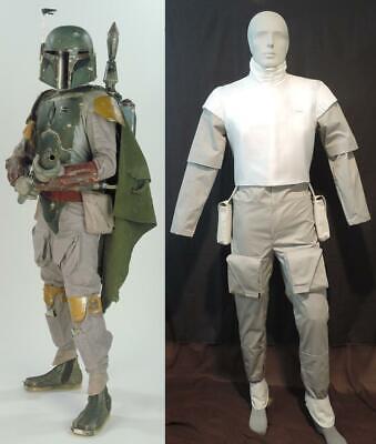 Boba Fett Halloween Costumes (Star Wars Costume Mens Adult Boba Fett Supreme Collector Licensed Rep)