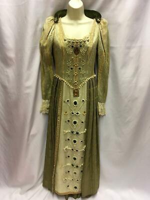 Vintage Theatrical costume Queen Elizabeth 1 Elizabethan Dress  size 10