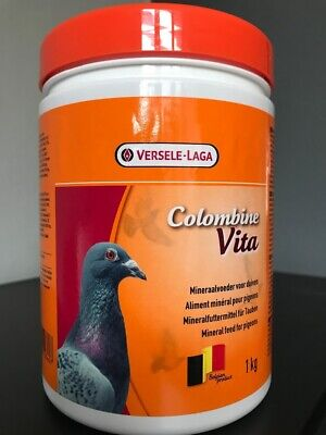 VERSELE LAGA COLOMBINE VITA 1kg PIGEON MINERALS VITAMINS BREEDING MOULTING RACE