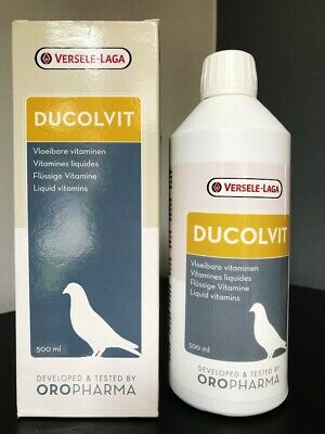 VERSELE LAGA DUCOLVIT 500ml LIQUID MULTI VITAMINS MINERALS PIGEONS BIRDS RACING