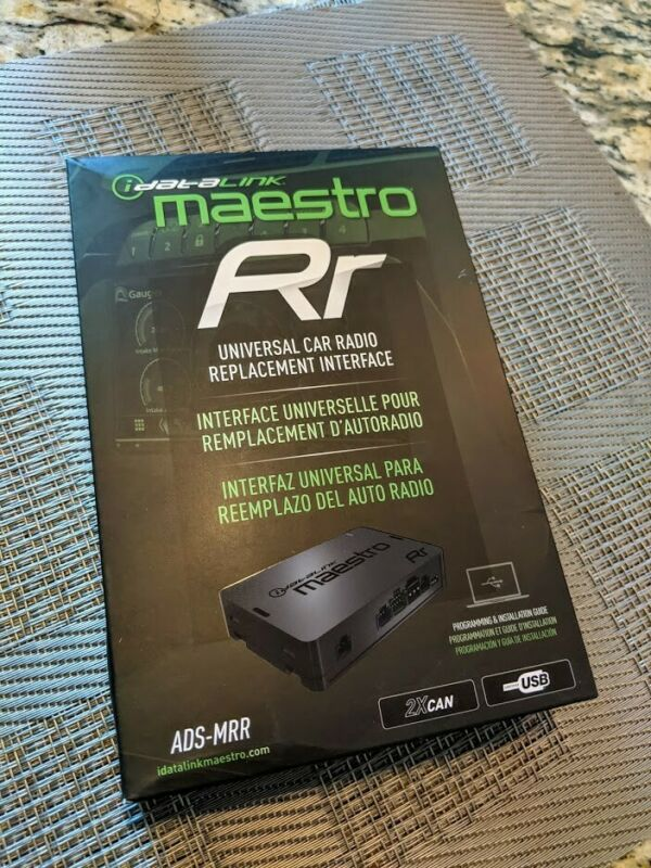 iDatalink Maestro RR Radio Interface Module S/W Controls & Factory Amp. ADS-MRR
