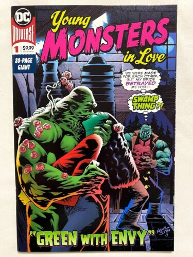YOUNG MONSTERS IN LOVE #1 DC 2018 80 PAGE GIANT SWAMP THING DINI GUILLEM VF/NM