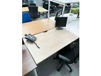 Office desk computer desk office table office furniture home desk