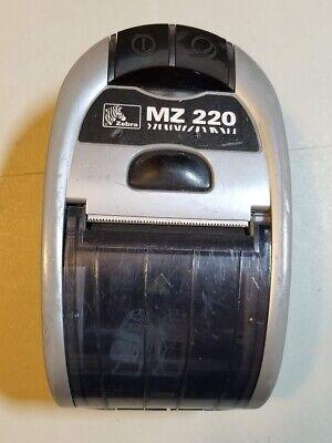 Zebra Mz 220 Mobile Pos Portable Bluetooth Thermal Receipt Printer No Battery