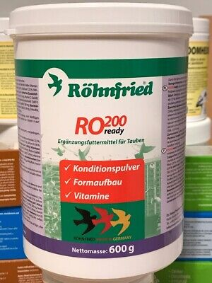 ROHNFRIED RO 200 600g PIGEON PREBIOTIC VITAMINS AMINO RACING PERFOMANCE FLYING