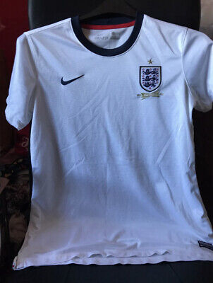 Nike England 150th Anniversary Shirt Large / L - 40inch Chest