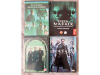 MATRIX REVOLUTIONS, RELOADED, ENTER THE MATRIX AND MUSIC FROM THE FILM