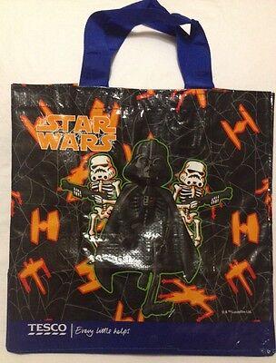 Star Wars Tote Bag Halloween Tesco Yoda Darth Vader Storm Trooper Pumpkin - Tesco Halloween