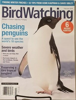 Bird Watching Feb 2018 Chasing Penguins Quest To See Species  FREE SHIPPING Mc23