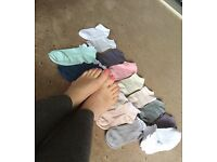 Well worn trashed womens/ladies socks Size 6