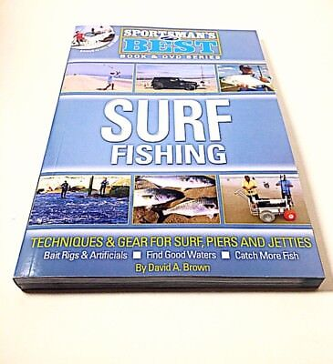Sportsman's Best Surf Fishing - Book And DVD *New* Free Shipping