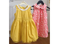 Girls dresses, clothes and shoes 0-7yrs Ted Baker, PoP, GAP, Benetton etc