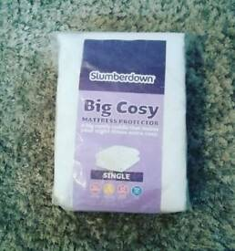 Slumberdown Single mattress protector Brand New