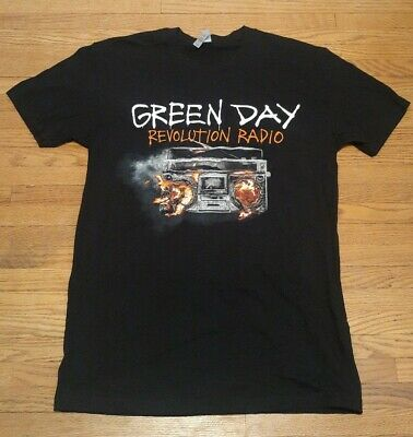 GREEN DAY REVOLUTION RADIO 2017 CONCERT TOUR SHIRT TAG MEDIUM NEW