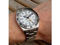 Rolex Explorer II White Dial Swiss ETA