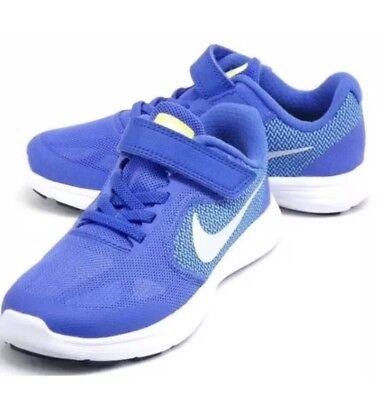 Girl's Nike Revolution 3 (PSV) Toddler shoes Medium Blue 819417 403 Size ...