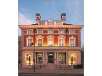 Conference and Banqueting Supervisor 5 Star Hotel, Reading