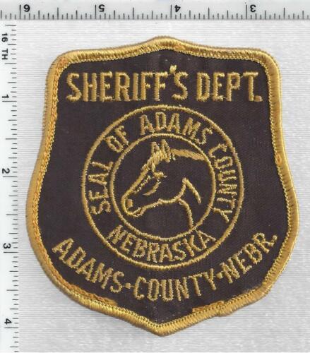 Adams County Sheriff (Nebraska) 1st Issue Uniform Take-Off Shoulder Patch