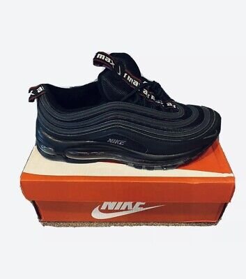 Nike Air Max 97 Black and Grey UK Sizes 6-11 **FAST AND FREE DELIVERY**