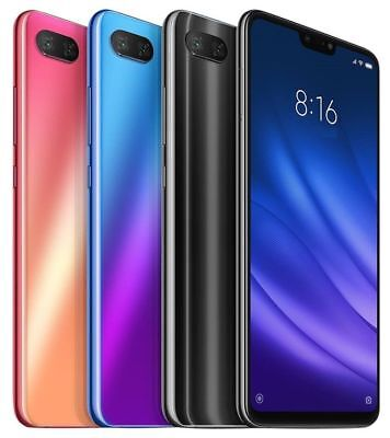 "Xiaomi Mi 8 Lite 64GB (FACTORY UNLOCKED) 6.26"" 4GB RAM - Global - BLACK"