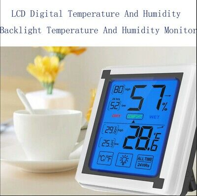 Best selling 2019 products Indoor thermometer LCD Digital Temperature And