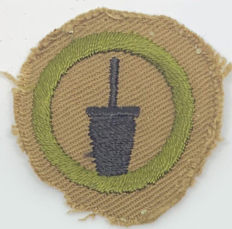 Boy Scout Merit Badge Type AA  Dairy (1-5)