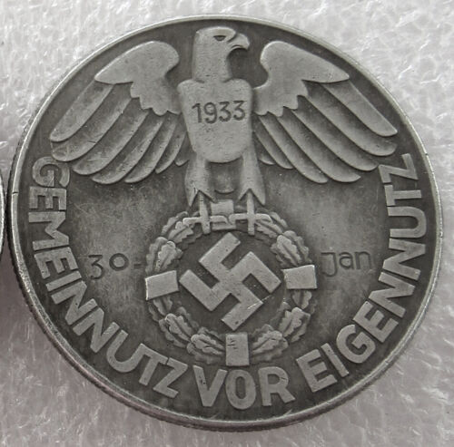 Free Coins! 1933 Hitler / Germany Exonumia Coin #32