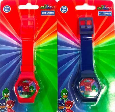 PJ MASKS 2pcs Digital LCD Wrist Watch For KIDS Boys Birthday  - Pj For Boys