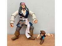 Pirates of the Caribbean Jack Sparrow figures