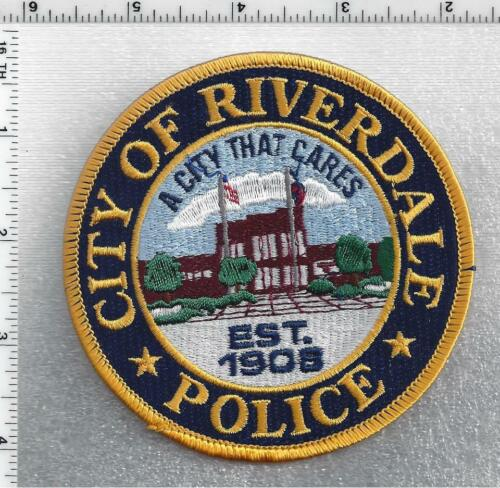 City of Riverdale Police (Georgia) 2nd Issue Shoulder Patch