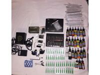 Tattoo Equipment and ink