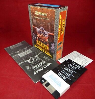PC DOS: Shadow Caster - Origin Systems 1993 mit OVP ()