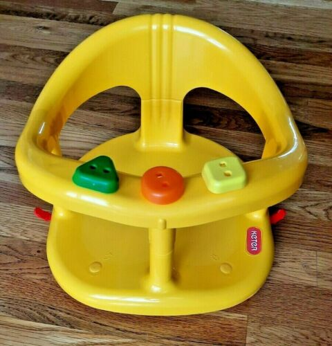 Baby Bath Tub Ring Seat By KETER - Yellow