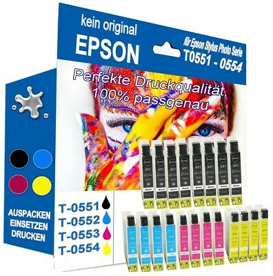 20 Druckerpatronen für kompatibel EPSON Stylus Photo R240 RX420 RX425 (Epson Stylus Photo Drucker)