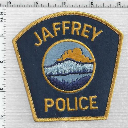 Jaffrey Police (New Hampshire) 3rd Issue Shoulder Patch