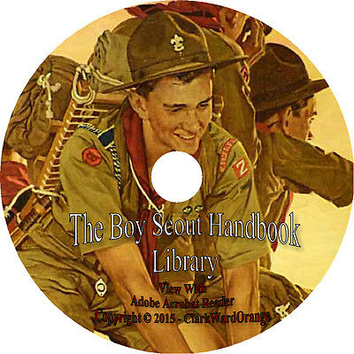 70 Vintage Books on DVD, The Boy Scout Handbook, Survival Tools How to Camp