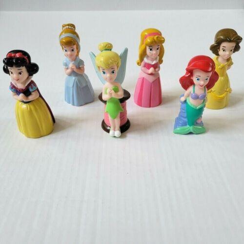 Disney Parks Princess Bath Tub Pool Squirt Toys Cinderella Ariel Belle + Lot 6