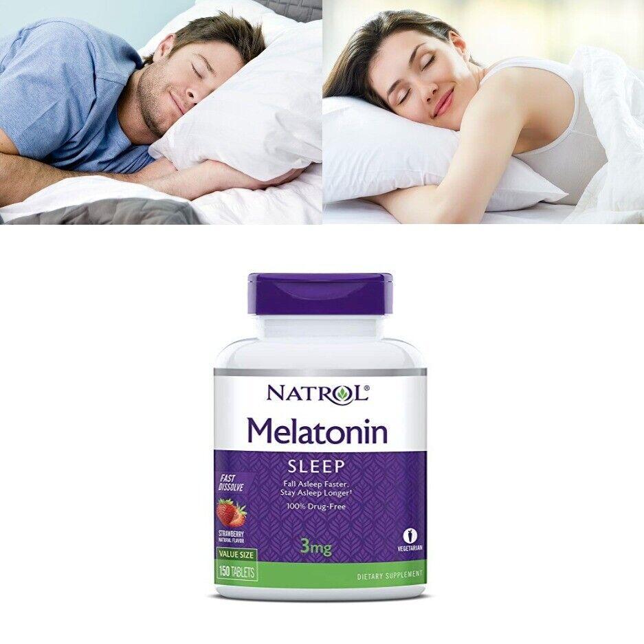Pastillas Para Dormir Rapido Mujer Hombre Niños Profundamente Mejor Naturales