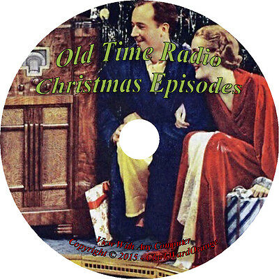 Christmas Old Time Radio Shows 500+ Classic Episodes on Mp3 Audio DVD CD