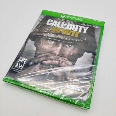 Call of Duty WW2 (Xbox One) WWII World War 2 Brand New SEALED