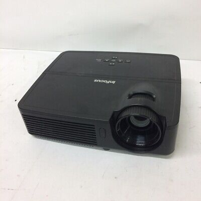 InFocus IN114 DLP Projector VGA 2700 Lumens 1024x768 322 Lamp Hours Used Tested