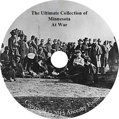 Minnesota at War Books - History & Genealogy - 29 Books on DVD